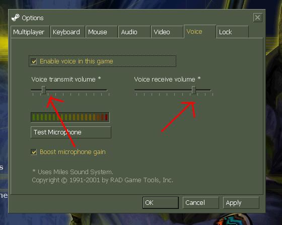 Как сделать чтобы голос в cs был